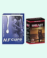 NF Cure and Shilajit Capsules Best Value Combo Packs