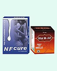 NF Cure and Vital M-40 Capsules Best Value Combo Packs