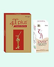 4T Plus Capsules and Overnight Oil Best Value Combo Packs