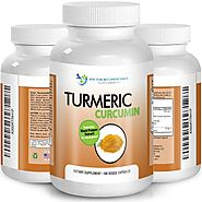 High Quality Turmeric Curcumin - 180 Veggie Capsules - 750mg - 95% Curcuminoids-with Black Pepper Extract (Piperine) ...