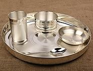 Silver Dinner Set Online India