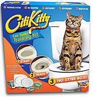 Cat Toilet Training Kit - White Elephant Gifts