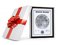 Buy Land on the Moon - White Elephant Gifts