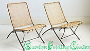 Considerations When Purchasing Garden Folding Chairs