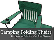 Camping Folding Chairs- Choose Portable And Innovative Option With Full Comfort!