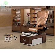 Ion Vented Pedicure Spa Chair