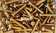 Brass Machine Screws Fasteners And Their Joints - Indian Product News
