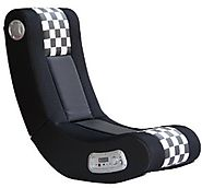 X Rocker 5171101 Drift Wireless 2.1 Sound Gaming Chair, Black/White Checkered Flag