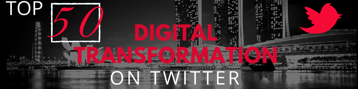 Headline for Top 50 Must-Follow Twitter Accounts for Digital Transformation in Media