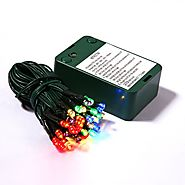 Battery Operated Christmas Lights With Timer - Christmas Decorating Fun