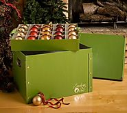 Christmas Ornament Storage Boxes - Christmas Decorating Fun