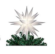 Lighted Christmas Star Tree Toppers - Christmas Decorating Fun