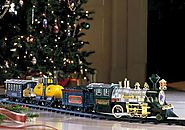 Christmas Tree Train - Christmas Decorating Fun