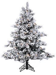 Top 10 Best Selling White Flocked Christmas Trees - Christmas Decorating Fun