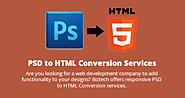 PSD to HTML Conversion Company