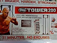 Body By Jake 556869 Tower 200 Full-Body Exercise Gym
