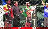 Uloomi Karim Defeats To Indian Yadwinder Singh In Mixed Martial Arts
