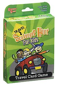 Travel Scavenger Hunt Card Game (Age 7 and up)
