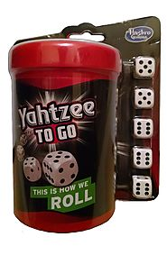 Yahtzee to Go Travel Game (Age 8 and up)