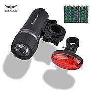 Best Bicycle Headlight And Taillight Sets Reviews