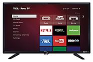 #10 TCL 32S3800 32-Inch 720p Roku Smart LED TV (2015 Model) [$169.99]