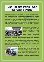 Car repairs perth brooklands automative