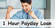 1 Hour Payday Loan: Get Extra Funds Easily Directly Into Your Account