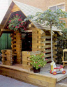 BackYard Log Cabin You Can Build
