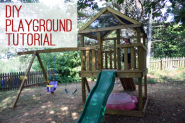 How to Build a DIY Playground Playset
