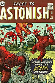 "5: Tales to Astonish (v1) #29a - ""When the Space-Beasts Attack """