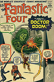 "10: Fantastic Four (v1) #5 - ""Prisoners of Doctor Doom! """