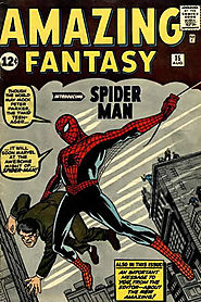 "11: Amazing Fantasy (v1) #15 - ""Spider-Man! """