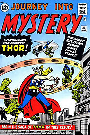 "12: Journey into Mystery (v1) #83 - ""The Stonemen from Saturn! """
