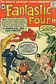 "15: Fantastic Four (v1) #6 - ""Captives of the Deadly Duo! """