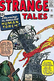 "19: Strange Tales (v1) #101 - ""The Human Torch """