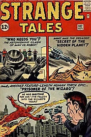 "22: Strange Tales (v1) #102 - ""Prisoner of the Wizard """