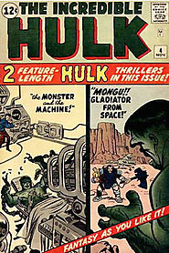 "24: Incredible Hulk (v1) #4b - ""Mongu, The Gladiator from Outer Space! """