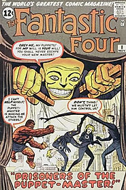 "25: Fantastic Four (v1) #8 - ""Prisoners of the Puppet Master! """