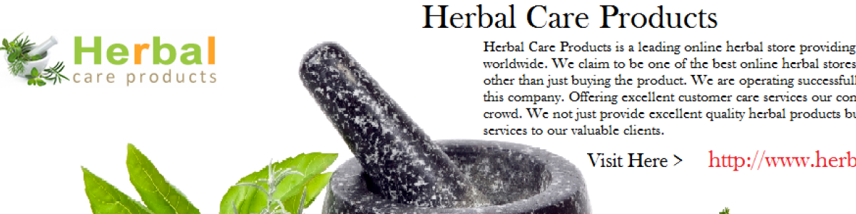 Headline for Herbal Care Products