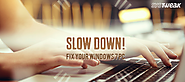 How to Fix Slow Running Window 7 PC - Optimize PC for Better Performance