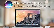 7 Common macOS Sierra Problems and Their Solutions | TechJeny