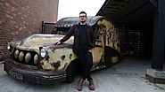 Hot wheels: Mechanic converts black cab into retro rat-rod