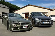 Our Audi Q5 long-termer vs a Nissan R34 GT-R by CAR Magazine