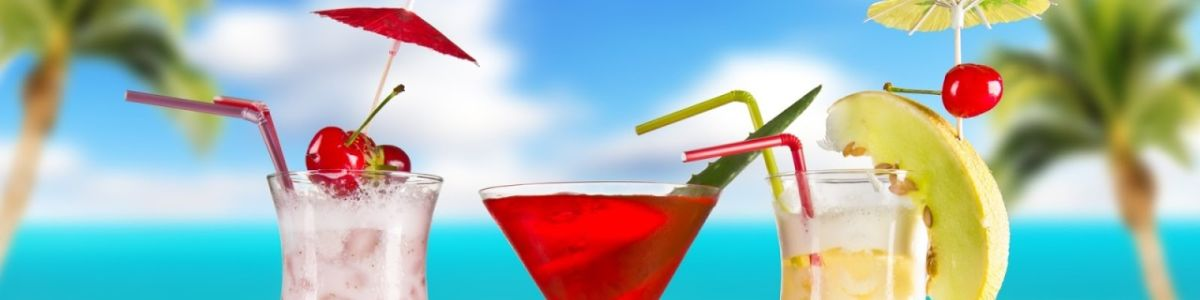 Headline for Beachside Cocktails – love a good sip?