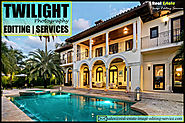 Twilight Image Editing |Night Photo Services for Real Estate Photographers