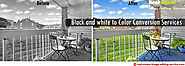 Black and white to color conversion in Photo editing technique | Real-Estate-Image-Editing-Services