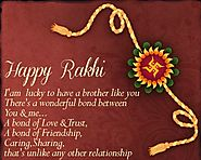 Happy Rakhi 2016 poem/kavita for brother/sister in english/hindi