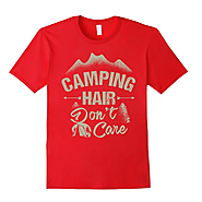Camping T-Shirts for Women - XpressionPortal