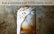 Rum & Coconut Iced Coffee Recipe: Boat Drinks