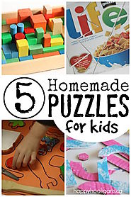 homemade games and toys for preschoolers and toddlers
